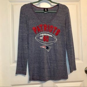 New England Patriots Woman's NFL Long Sleeve Top
